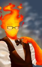 The Hot Date (Grillby x Reader) by PastelSkell