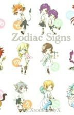Zodiac Signs by XsoulcandyX