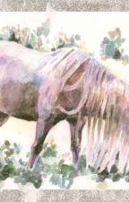 Конь с розовой гривой by Alenashka