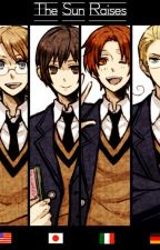 Au!Bully!Hetalia x Bullied!Reader- The Sun Raises by HanaSasaki8