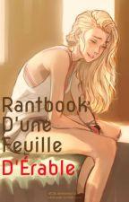 Rantbook d'une feuille d'Érable by Kaedeko
