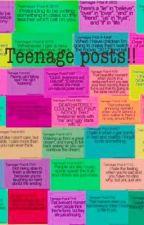 Teenage posts! by missjulianna12