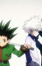 Hunter X Hunter Kurapika x Reader x Killua x Gon by Kiraforver13
