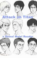 Uke! Attack on Titan x Seme! Male! Reader by Yaoi_God_Peter06