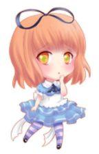 Chibi Haruka ( UtaPri ) by DraculaInPurple