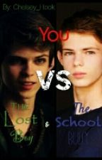 You VS The Lost Boy & The School Bully ( Peter Pan/Robbie Kay × Reader)PJO/OUAT by Chelsey_Hook