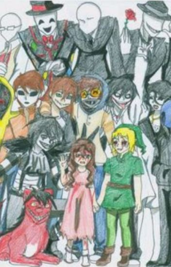Your crazy new family! (Creepypasta x reader) - just call me roseq