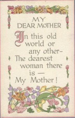 Dear Mother by Rjel23
