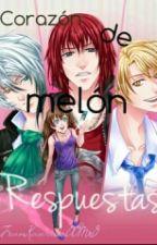 Corazón de Melón- Respuestas, Personajes,Tutoriales y más by taelittlebaby