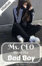 Ms. CEO Meets The Bad Boy (HIATUS) by BabyGirl_3172
