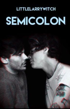 Semicolon // L.S. by littlelarrywitch