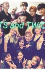 BTS and TWICE by Kim_Mariah