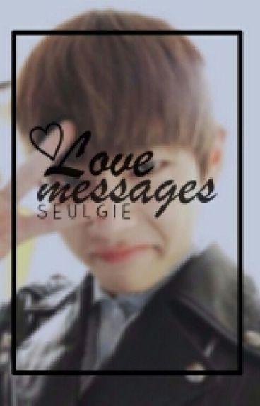 [Editando] love messages → taegi