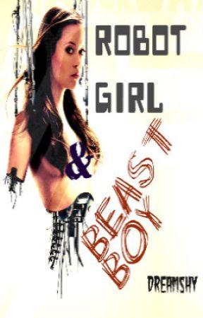 ROBOT GIRL & BEAST BOY by dreamshy