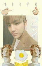 Flirt › Mingyu ✔ by angelicjeonghan