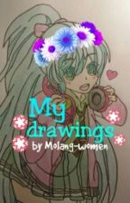 My Drawings by Molang-women