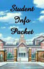 Student Info Packet by 2016WattyAcademy
