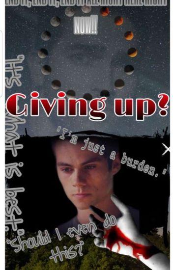 Giving up? (BoyxBoy)