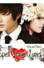 Spell Love U & I by rannastillero