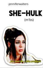 She-Hulk (M'bs) by -jenniferwalters