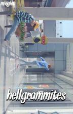 Hellgrammites 『Wonwoo』✔️ by minglet