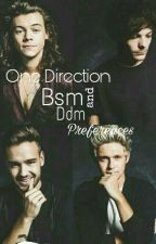 One Direction Bsm Preferences  by Directioner_2140