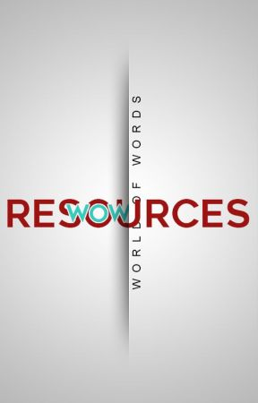 WOW RESOURCES by WOWords_
