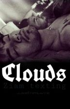 Clouds//Ziam Texting by bubblebaekkie