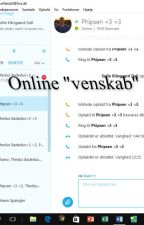 "Online ""venskab"" by SofieDall"