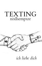 Texting • Larry ✔ by nixllsempxre