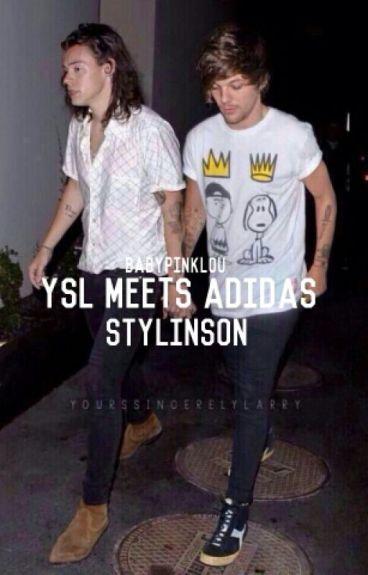 YSL meets Adidas↝l.s