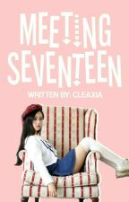 Meeting the group named SEVENTEEN  by cleaxia