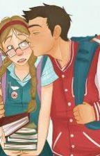 A nerd e o Popular by bruna100499