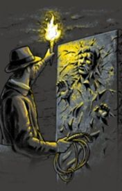 Indiana Jones And The Man In Carbonite by hansfalkon