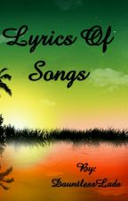 Lyrics Of Songs by PawstelColors