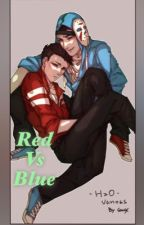 Red vs Blue H2oVanoss by I-LUV-1D