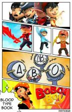 BloodType Book BoBoiBoy... by Glowing_MagicalCat_