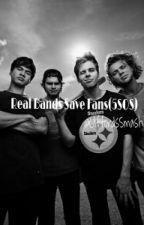 Real Bands Save Fans by CliffordSmash