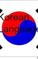 Korean Language by EymKillerxxx