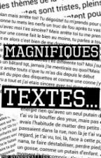 Magnifiques textes ... by funereallife