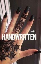 handwritten ➸ s.m by -MILKANDCOOKIES