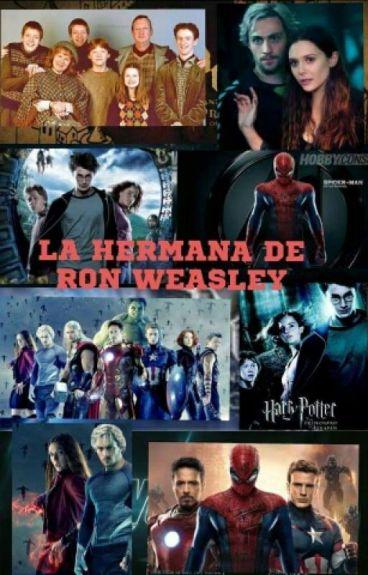 La hermana de Ron Weasley
