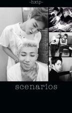 BTS Scenarios by ikitakuna