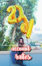 Account Rates !!! (Closed Temp.) by fxckboimaloley