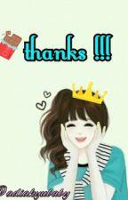 Thanks !!! by adiakyubaby
