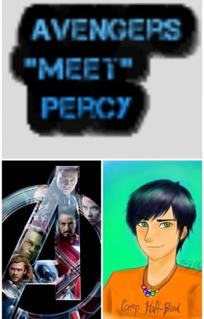 "Avengers ""meet"" Percy by lilithrules"