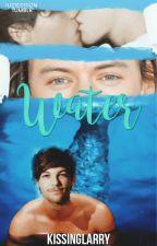 Water ➶ Larry Stylinson AU Merman!Louis by kissinglarry