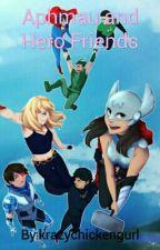 Aphmau and Hero Friends by krazychickengurl