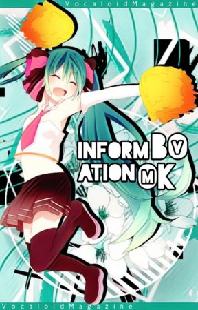 Information Book by VocaloidMagazine