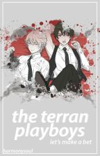 The Terran Playboys: Slaine x Reader x Inaho (Aldnoah.Zero Fanfiction) by HarmonySoul